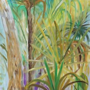 Art: Deep in the Everglades by Artist Delilah Smith