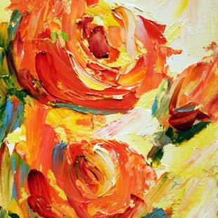 Art: roses by Artist Laurie Justus Pace