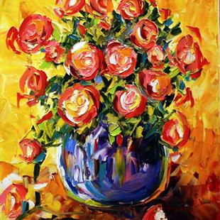 Art: roses roses roses by Artist Laurie Justus Pace
