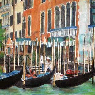 Art: Venice by Artist Lisa Thornton Whittaker
