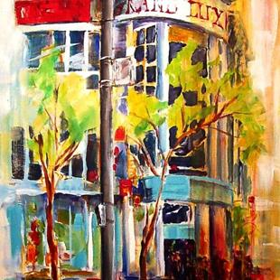 Art: Spring in the City by Artist Diane Millsap