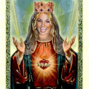 Art: Our Lady Britney by Artist Lisa Thornton Whittaker