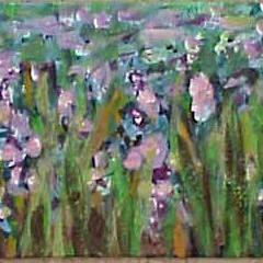 Art: Field Flowers ACEO SOLD by Artist Terri L West