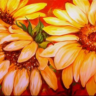 Art: A BRIGHT DAY by Artist Marcia Baldwin