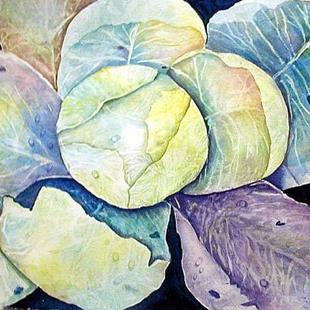 Art: Cabbage by Artist Ulrike 'Ricky' Martin