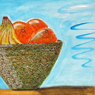 Art: Great Fruitbowl in the Sky by Artist Diane G. Casey