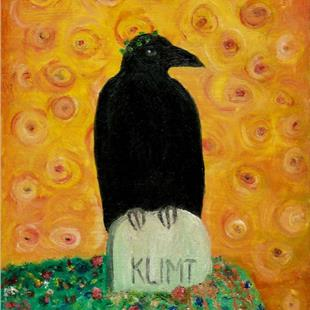 Art: Ode to Klimt by Artist Sara Field