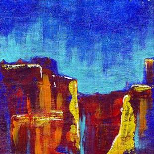 Art: Red Wind Canyon #1 by Artist Christine Wasankari
