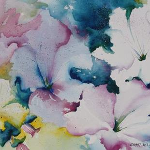 Art: Petunia Ruffles by Artist Jo Lynch