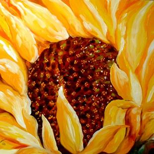 Art: TUSCANY SUNFLOWER 8 by Artist Marcia Baldwin