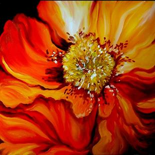 Art: POPPY by Artist Marcia Baldwin