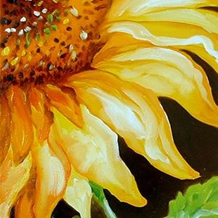 Art: SUNFLOWER DAY by Artist Marcia Baldwin