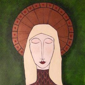 Art: Earth Madonna by Artist Melissa Morton