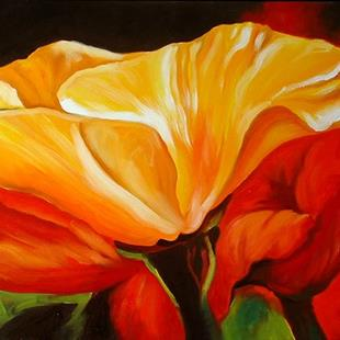Art: GOLDEN RED by Artist Marcia Baldwin