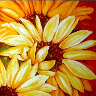 Art: SUNFLOWERS 06 by Artist Marcia Baldwin