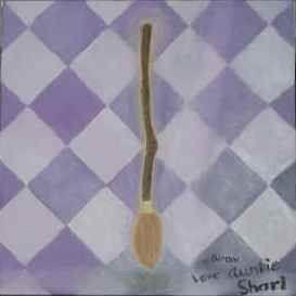 Art: Nimbus 2000 - sold by Artist Shari Lynn Schmidt