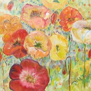 Art: Poppy Parade by Artist Delilah Smith