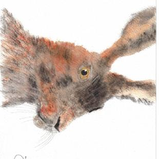 Art: HARE h140 by Artist Dawn Barker