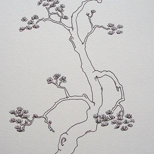 Art: tree study #12 by Artist Angie Reed Garner