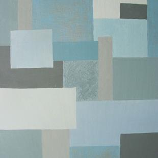 Art: Winter (Seasons Color Block Series) by Artist Donna Gill