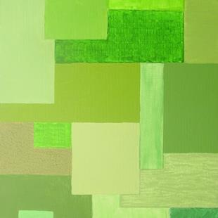 Art: Spring (Seasons Color Block Series) by Artist Donna Gill