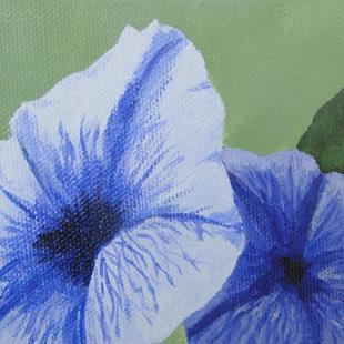Art: Petunias for TAG by Artist Donna Gill