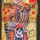 Art: THE CIRCUS CLOWN by Artist Claudia Roulier