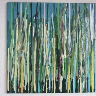 Art: EMERALD REEF(SOLD) by Artist Dawn Hough Sebaugh