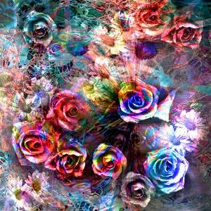 Art: Memories of Roses by Artist Carolyn Schiffhouer