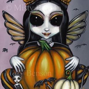 Art: Pumpkin Procession by Artist Misty Monster (Benson)