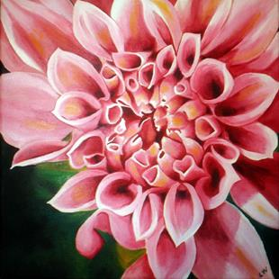 Art: Chrysanthemum 2 by Artist Lisa Thornton Whittaker