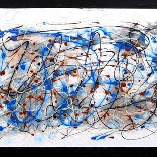 Art: Abyss of Abstraction by Artist Diane G. Casey