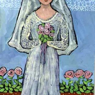 Art: The Bride by Artist Catherine Darling Hostetter