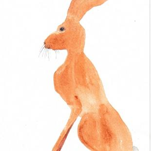 Art: HARE H431 by Artist Dawn Barker