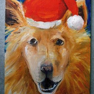 Art: Merry Christmas Molly by Artist Deborah Sprague