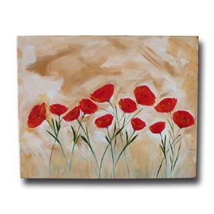 Art: Happy Poppies by Artist Eridanus Sellen