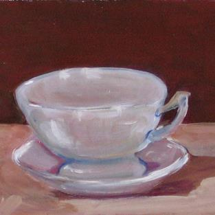 Art: The Cup by Artist Delilah Smith