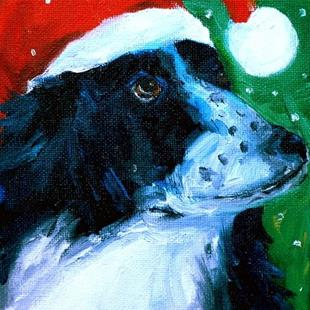Art: Rescue Dog Sadie by Artist Deborah Sprague