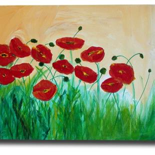 Art: Morning Poppies 2 by Artist Eridanus Sellen