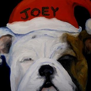 Art: Christmas Bullies by Artist Deborah Sprague
