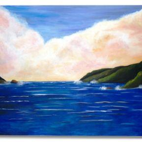 Art: Journey to Avalon by Artist Shari Lynn Schmidt