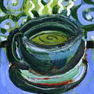 Art: Coffee Cup #8 by Artist Jennifer Lommers