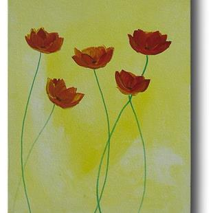 Art: Sunlit Poppies by Artist Eridanus Sellen