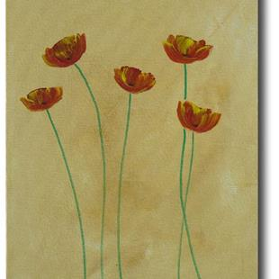 Art: Healthy Happy Poppies by Artist Eridanus Sellen
