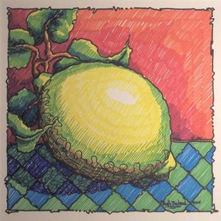 Art: Lemon by Artist Shelly Bedsaul