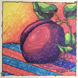 Art: Plum by Artist Shelly Bedsaul