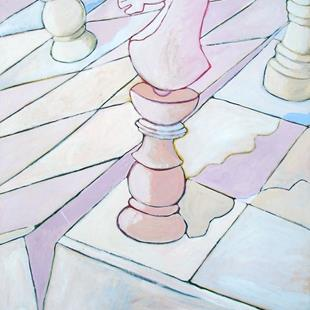 Art: Untitled (chess) by Artist Muriel Areno