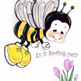 Art: Is It Spring Yet? by Artist Patricia  Lee Christensen