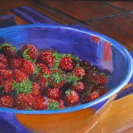 Art: Brother's Harvest by Artist Mary Jo Zorad