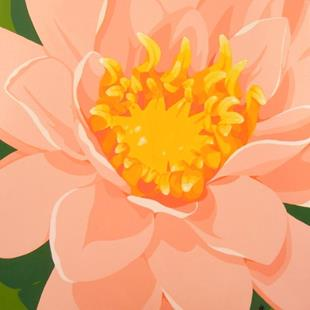 Art: Tranquil Water Lily by Artist Kris Jean